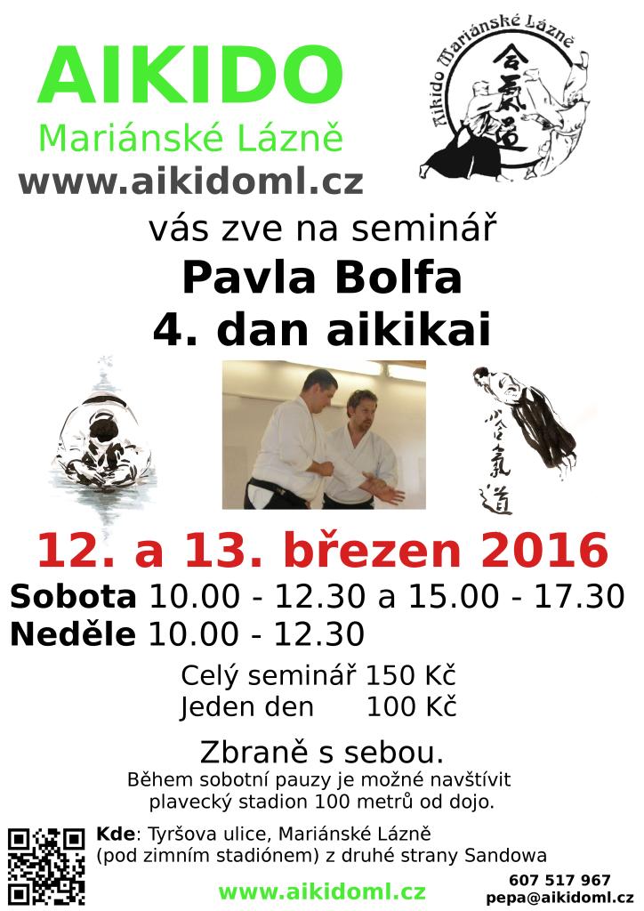 Aikido 2016 seminář pavel bolf